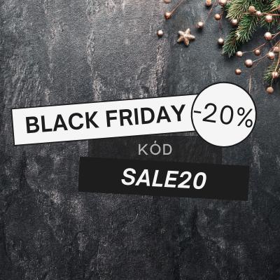Extra sleva 20% v Black Friday
