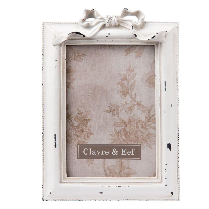 Rámeček na fotku mašle 21 x 15 cm (Clayre & Eef)