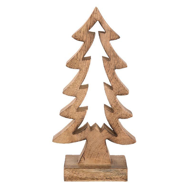 Dřevěný vánoční stromeček - 16 x 30 cm (Clayre & Eef)