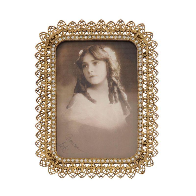 Kovový rámeček na fotku 19 x 14 cm (Me & Marie)