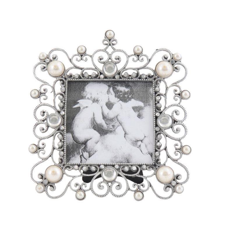 Kovový rámeček na fotku 17 x 15 cm (Me & Marie)