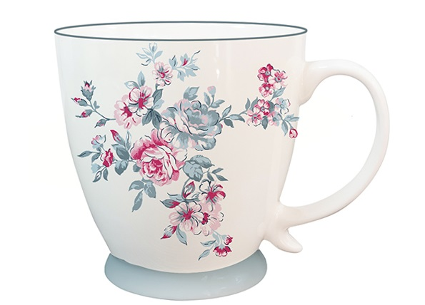 Porcelánový hrnek HAYWOOD ISABELLE ROSE 430 ml