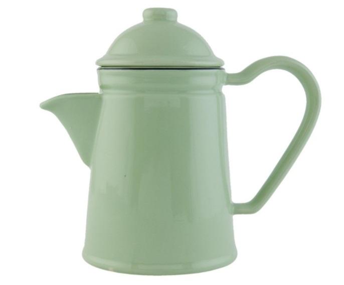 Konvička na čaj Enamel Green (Clayre & Eef)