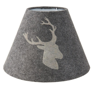 Stínítko na lampu Hunter grey