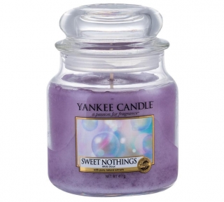 Vonná svíčka Yankee Candle Sweet Nothings 411g