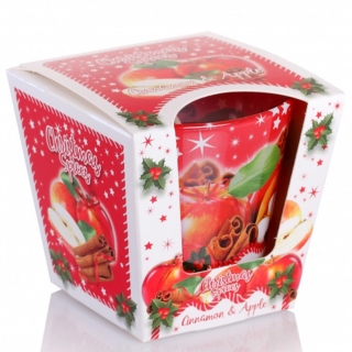 Vonná svíčka ve skle Christmas Spices Cinnamon Apple 115 g