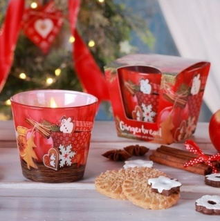 Vonná svíčka BARTEK CANDLES ve skle Gingerbread 115 g